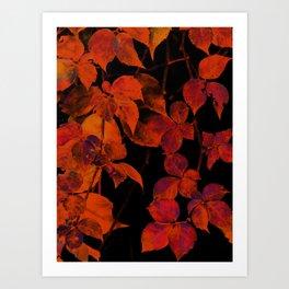 It's Fall II Art Print