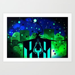 Star Drowning Art Print