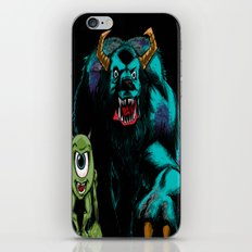Mike & Sully (black)... iPhone & iPod Skin