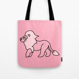 Pink Floof Tote Bag
