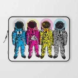 CMYK Spacemen Laptop Sleeve