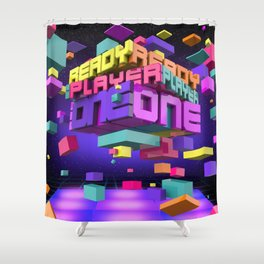 Ready Player One Shower Curtain