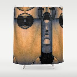 Keyhole Fantasy Shower Curtain