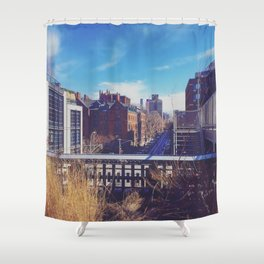 High Line Shower Curtain