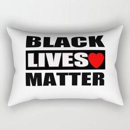 black lives matter T-Shirt Rectangular Pillow