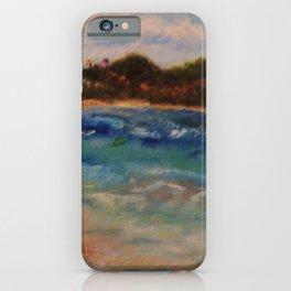 Winter Seaside Fantasy by Marianne Fadden iPhone Case