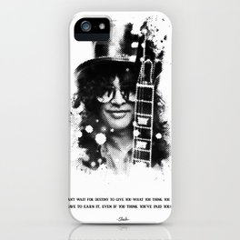 Slash gun N Roses iPhone Case