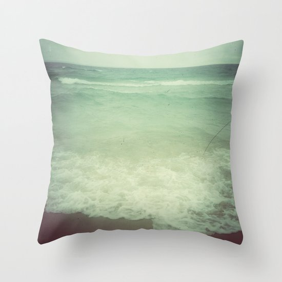 Ebb and Flow Throw Pillow by Olivia Joy StClaire Society6