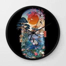 Nature is medi ZEN Wall Clock