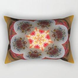 Kaleidoscope Decor 8 Rectangular Pillow