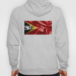 East Timor Flag Hoody