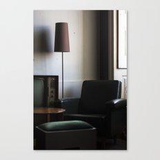 mercado negro Canvas Print