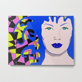 The Venusian in Colours Metal Print