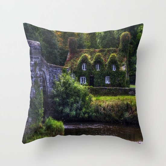 River Cottage Throw Pillow