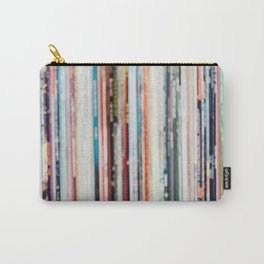Abstract Records Carry-All Pouch
