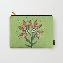 Cute Eyes Flower Monster Carry-All Pouch