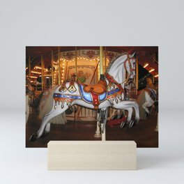Vintage Carousel Horse Mini Art Print