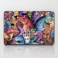 community iPad Cases featuring Colourful Community by Salih Gonenli