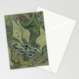 Giant Peacock Moth Stationery Cards