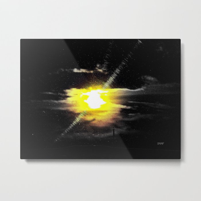 Glares the Daywatch Metal Print