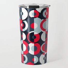 "The ""Simultaneous Discs"" pattern Travel Mug"