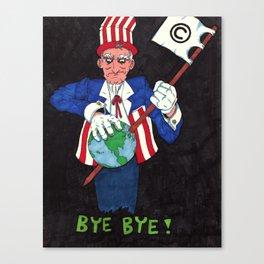 Bye Bye! Canvas Print