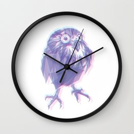 Welcome Owly! Wall Clock