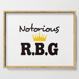 Notorious R.B.G Serving Tray