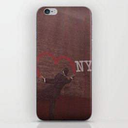 Heart of the City iPhone Skin