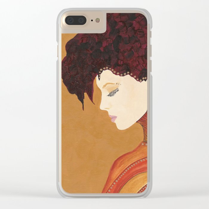 Anne Clear iPhone Case
