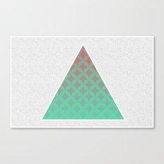 Tri Filling Canvas Print