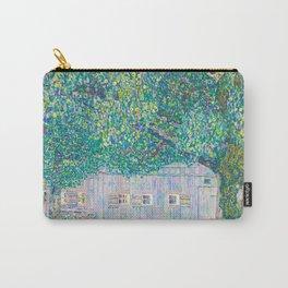 12,000pixel-500dpi - Gustav Klimt - Farmhouse In Upper Austria - Digital Remastered Edition Carry-All Pouch