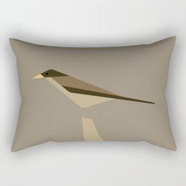 Zorzal / Austral thrush Rectangular Pillow