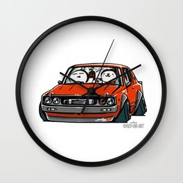 Crazy Car Art 0147 Wall Clock