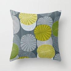 Dickinsonia Lime Throw Pillow