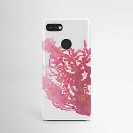 Aloha Pink Coral Watercolor Art Android Case