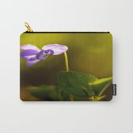 Solo Forest Viola Shiny #decor #society6 Carry-All Pouch