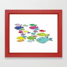 FISHpaint Framed Art Print