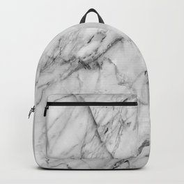 Carrara marble Backpack