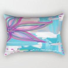 Easter Flower Rectangular Pillow