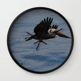 Pelican Blue Wall Clock