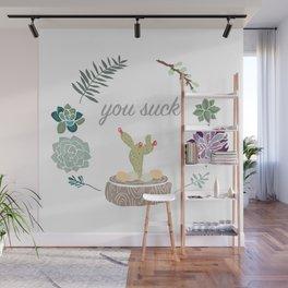 Suckulents Wall Mural