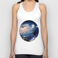 swimming Tank Tops featuring Swimming Pool by Cs025
