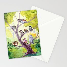 The Owl Story Stationery Cards
