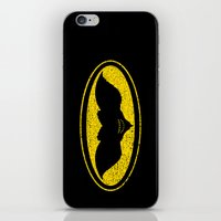 gotham iPhone & iPod Skins featuring Gotham Gremlin by JVZ Designs