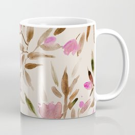 Spring in San Marino - watercolor florals Coffee Mug