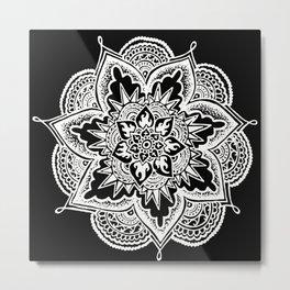 Mandala - Dentelle Metal Print