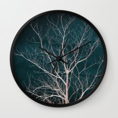 Winter Tree Wall Clock