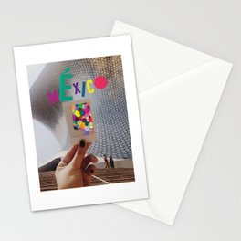2/3 Mexican Flag Stationery Cards