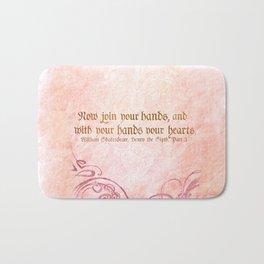 Join your Hands Bath Mat